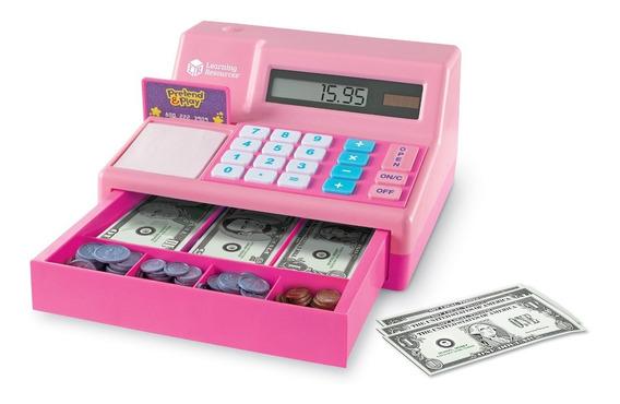 Pretender & Play Calculadora Caja Registradora En Rosa