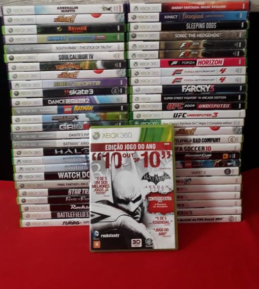 Batman Arkhan City Xbox 360 - Original - Edição Jogo Do Ano.