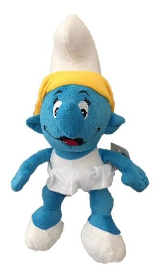 Pelúcia Os Smurfs - Smurf Smurfette 26 Cm Musical