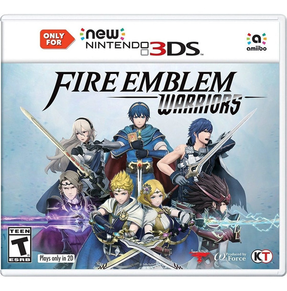 Fire Emblem Warriors Nintendo New 3ds Apenas - Envio 12,00