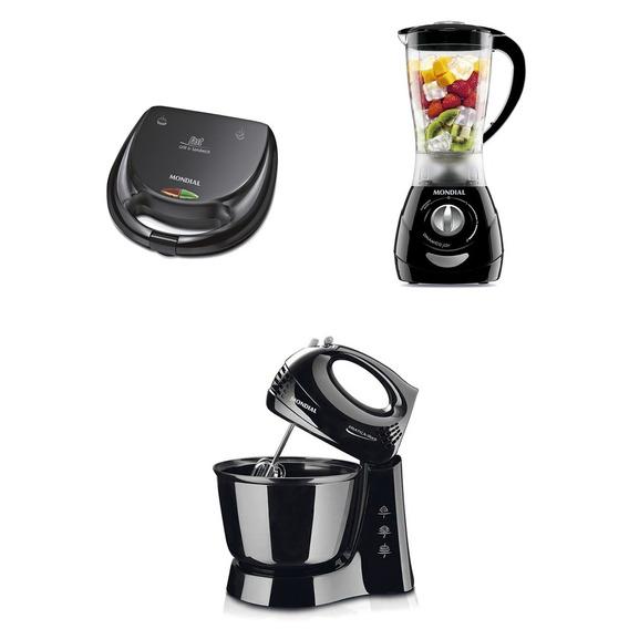 Kit Especial Cozinha Com 3 Peças 110v - Kit-56