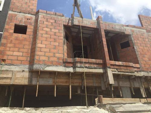 Cobertura Com 3 Dormitórios À Venda, 130 M² Por R$ 550.000,00 - Parque Das Nações - Santo André/sp - Co5413