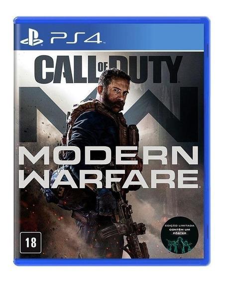 Call Of Duty Modern Warfare Ps4 Mídia Física Pronta Entrega