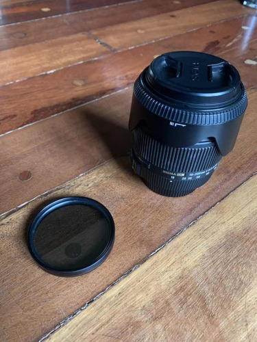 Lente Sigma 18-200mm P Nikon + Filtro |