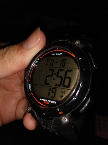 Reloj Digital Pro Space Sumergible