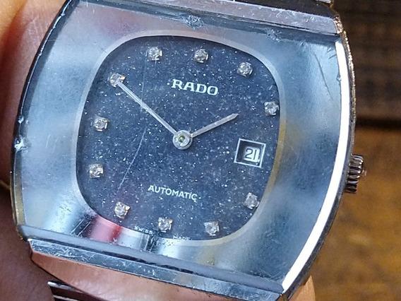 Reloj Rado Lluvia De Estrellas Con Brillantes Antiguo Origin