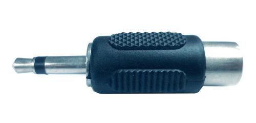 Adaptador Miniplug 3.5mm Mono A Rca Hembra V8031