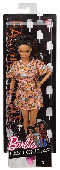 Barbie Fashionista Colecionador Negra Vestido