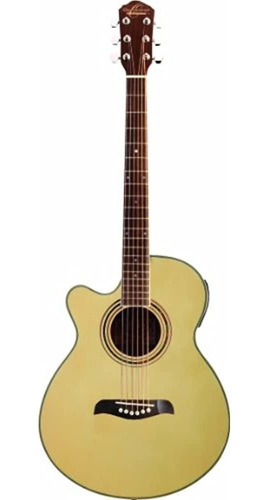 Imagen 1 de 1 de Oscar Schmidt Guitarra Acustica-electrica De 6 Cuerdas, De