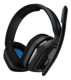 Auricular Gamer Astro A10 Blue Ps4 Altavoces Microfono Ps4