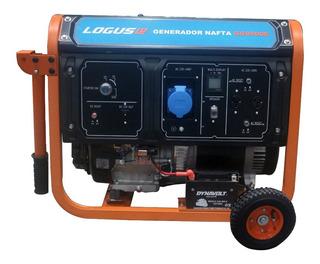 Grupo Electrogeno Logus Gg8500e 8500w Con Ruedas
