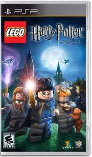 Videojuego Harry Potter 1-4 Para Psp Lego