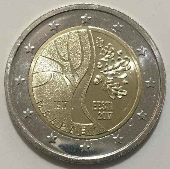 Estonia 2 Euros 2017 100° Independencia