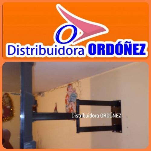 Soportes Tv Pared Giratorio Brazo Extensible 32 A 65 Pulgdas
