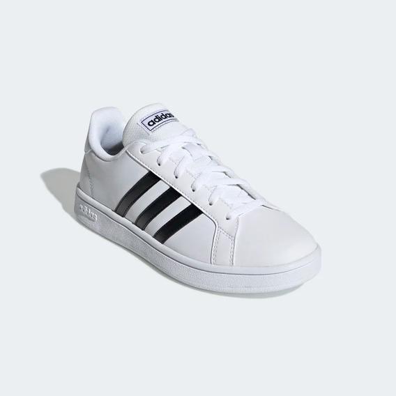 Tênis adidas Clássico Branco Grand Court 100% Original + Nf
