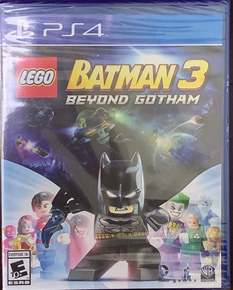 Jogo Lego Batman 3 Beyond Gotham Ps4