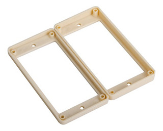 2pieces Slanted Pickup Mounting Rings For Electric Guitar -