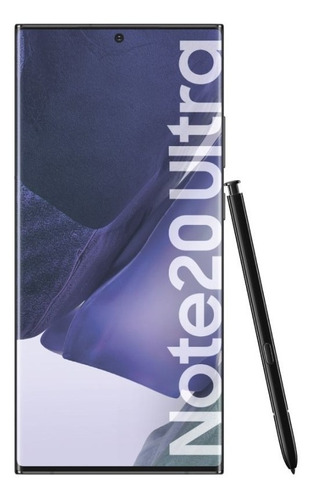 Imagen 1 de 9 de Celular Liberado Samsung Note 20 Ultra Negro 6,9  256 Gb