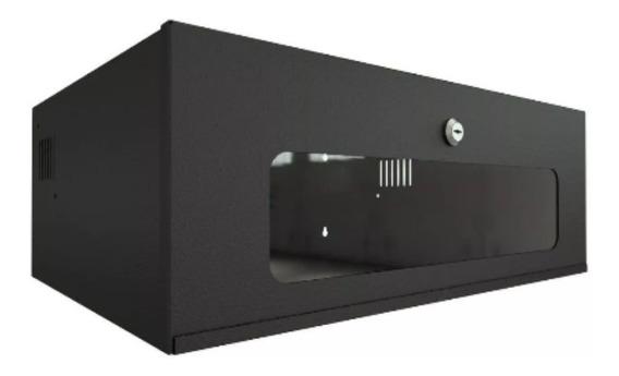 Mini Rack 3u Onix Ideal Dvr E Switch P350mm L500mm A180mm