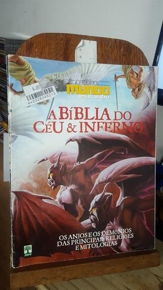Revista Coleção Mundo Estranho - A Bíblia Do Céu & Inferno