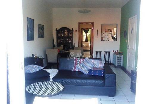 Imagem 1 de 30 de Condomínio 4 Dormitórios À Venda, 170 M² Por R$ 990.000 - Santa Rosa - Niterói/rj - Ca0405
