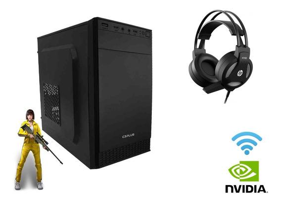 Pc Gamer Desktop C3plus 4gb 500gb 3.0ghz Video 1gb Free Fire