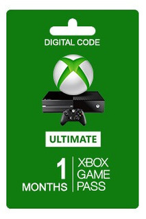 Xbox Game Pass Ulimate Pc + Xbox One + Live Gold 1 Mes