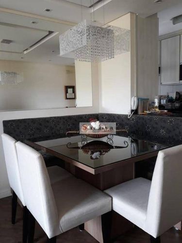 Apartamento Com 2 Dormitórios À Venda, 50 M² Por R$ 300.000,00 - Vila Gonçalves - São Bernardo Do Campo/sp - Ap3977