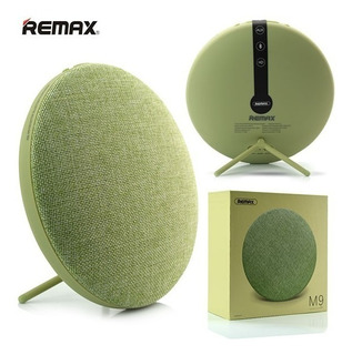 Parlante Bluetooth 4.1 Remax iPhone Android Retro Verde