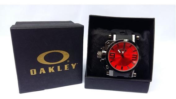 Relogio Masculino Oakley Gearbox Titanium C/caixa 5 Unidades