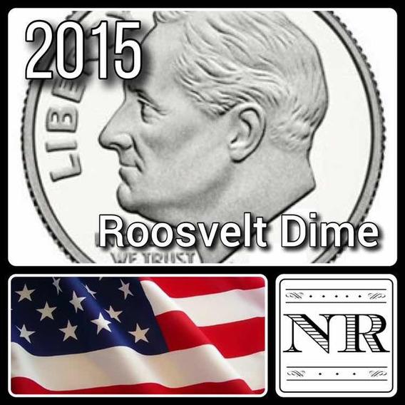 Dime 2015 P & D - 10 Cent Dolar - Eeuu - Roosvelt