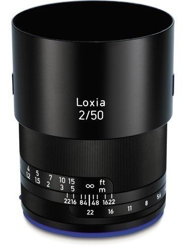 Zeiss Loxia 50mm F/2 Planar T* Lente Sony E Mount
