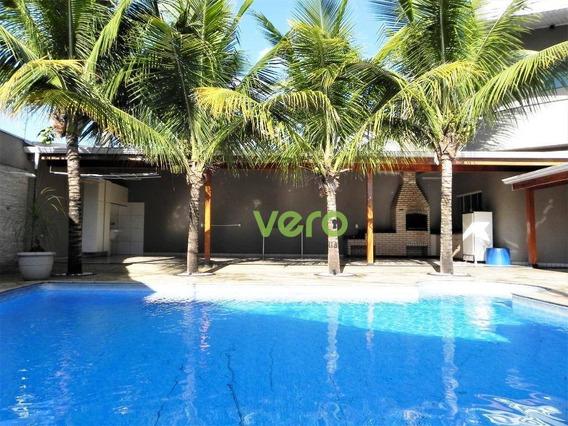 Casa Com 2 Dormitórios Para Alugar, 287 M² Por R$ 3.100,00/mês - Parque Nova Carioba - Americana/sp - Ca0116