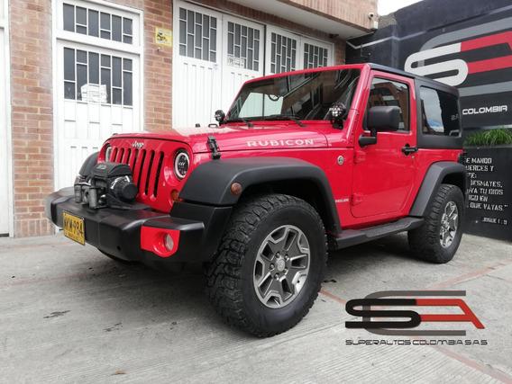 Jeep Wrangler Rubicon Quadra-drive