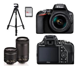 Kit Cámara Fotográfica Semiprofesional Nikon 24 Megapixeles