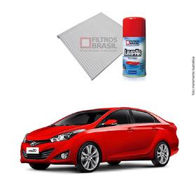 Kit Filtro Ar Condicionado Higienizador Hyundai Hb20 Sedan