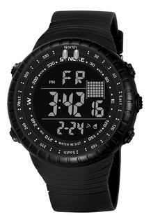 Reloj Sinoke Militar Crono-luz-alarm+fecha-sumer Japan