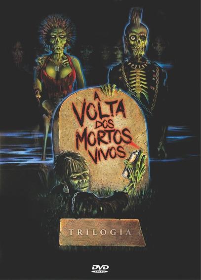 Trilogia A Volta Dos Mortos-vivos - Dvd