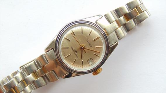 Relogio Antigo Timex Corda Feminino Anos 60 Funcionando Raro