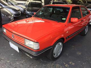 Volkswagen Gol Star 1.8 Alcool 1989 Vermelho Raridade