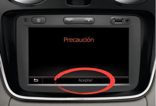 Solución Reparación Botón Aceptar Gps Renault Medianav