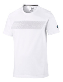 Playera Puma Bmw Mms T7 Blanco 577792-02 Look Tendy