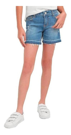 Short Jean Gap Girl Talle 6, 8, 10 Años Elastizado Nuevo