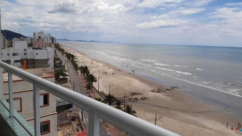 Apto 11° Com Vista Para O Mar Em Mongaguá. 7519 M H