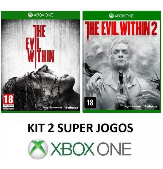 The Evil Within 1 2 - Midia Fisica Original Lacrado Xbox One