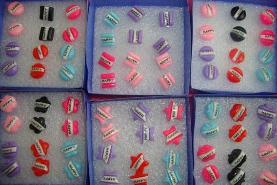 Paquetes Con 6 Cajas De Aretes