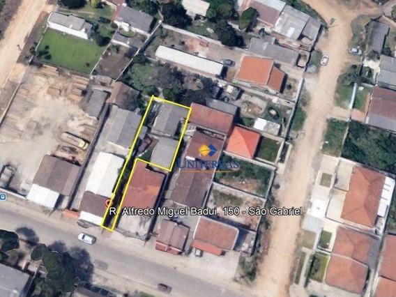 Terreno Para Venda Em Colombo No Bairro Jardim São Sebastião - Te0044