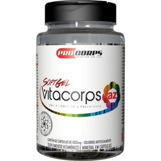Vitacorps Az 60 Softcaps Pro Corps Promoção