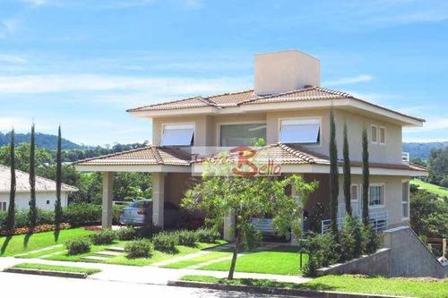 Casa Com 4 Dormitórios À Venda, 355 M² Por R$ 2.498.000,00 - Condomínio Villagio Paradiso - Itatiba/sp - Ca1495