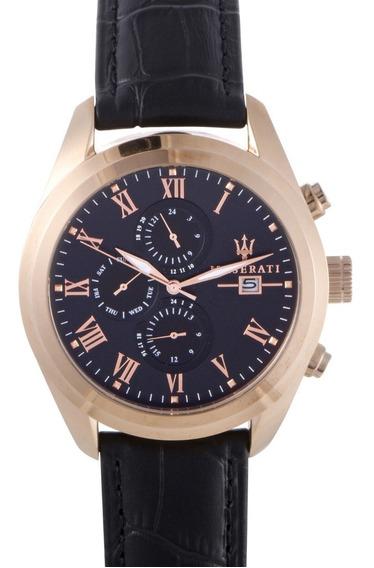 Reloj Maserati Traguardo Negro Hombre R8871612002